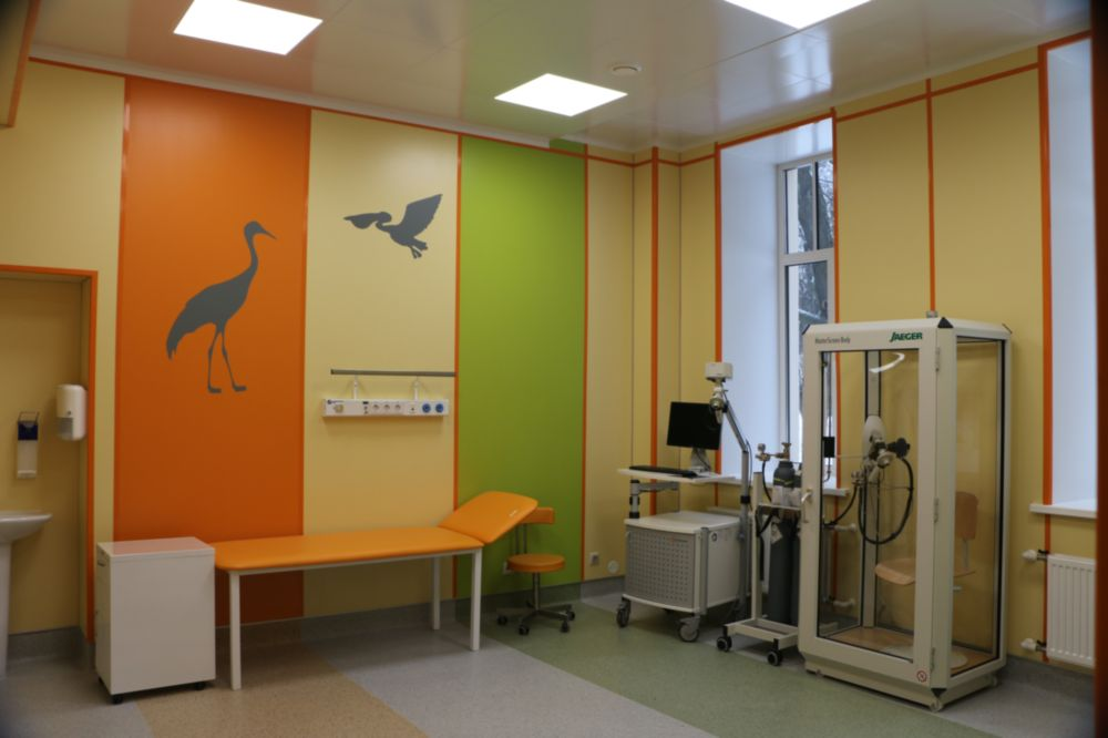 Children's Phthisiopulmonologic Center FGBU «SPb NIIF» MH RF
